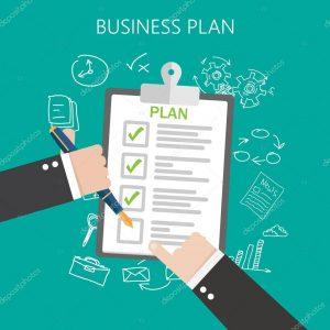 depositphotos_86843644-stock-illustration-business-plan-flat-vector